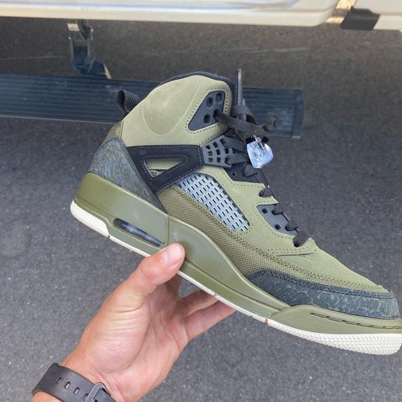 Jordan Shoes | Jordan Spizike Olive